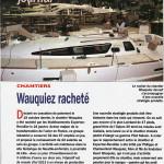 Article voiles et voiliers chantier Wauquiez