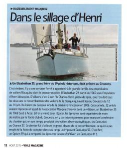 Dans le sillage d'Henri 1
