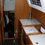 galley & aft cabin